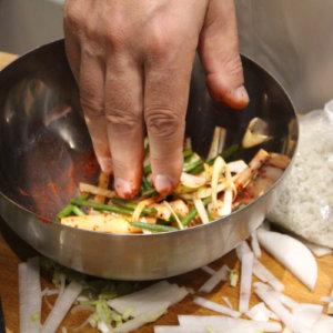 Assaisonnement pour kimchi