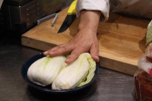 Chou saumuré pour kimchi