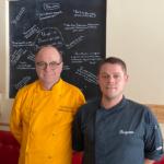 Chefs Pascal Dufournaud et Benjamin Boullais